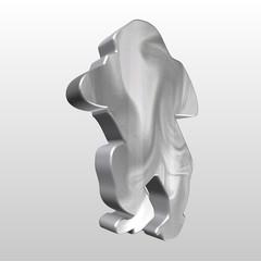 Logo 3D gorilla