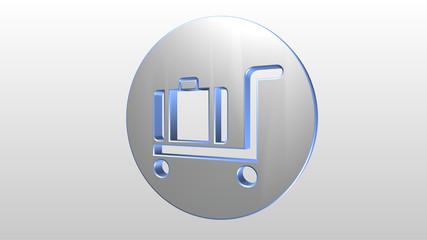 Logo 3D portabagagli