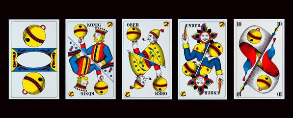 Spielkarten - JASSEN - SCHELLEN