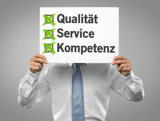 Qualität / Service / Kompetenz