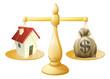 House money sack scales