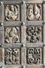 Doors of the Cathedral of Tuy