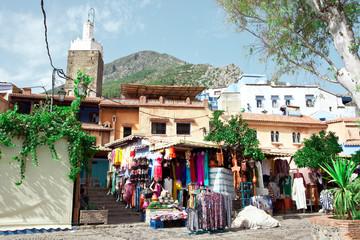 Souk à Chefchaouen  -Nord du Maroc