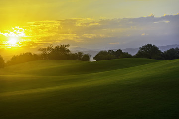 Golf Sunrise