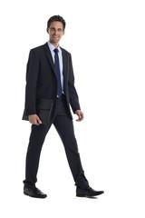 Geschäftsmann mit Aktentasche