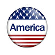 An America Button