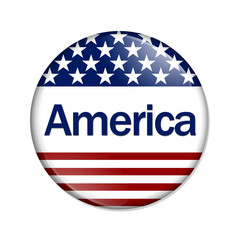 An America Button
