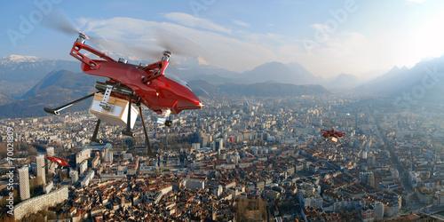 Livraisons par drones - 70021809