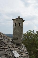 stone chimeny