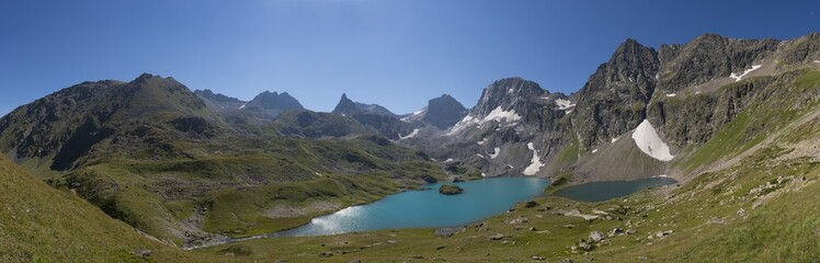Mountain lake, Caucasian National Park