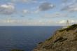 canvas print picture - Mallorca, Leuchtturm Far de Capdepera quer