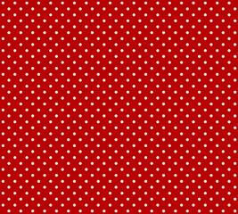 Roter Hintergrund mit weißen Pünktchen
