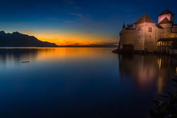 Chillon Castle, Montreux, Switzerland