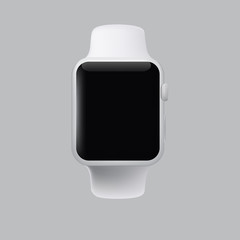 Illustration of a conceptual smart watch