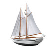 Sail Ship Isolated - 70023800