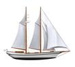 Sail Ship Isolated - 70023807