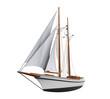 Leinwandbild Motiv Sail Ship Isolated