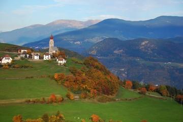 Altopiano del Renon-Paesaggio presso Longomaso