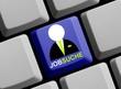 Online nach einem neuen Job suchen