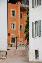Scorcio nel centro storico di Salorno