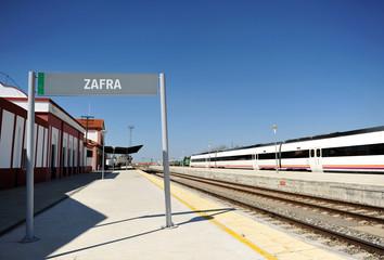 Estación de ferrocarril, Zafra, Badajoz, España