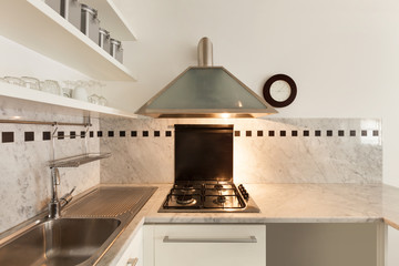 Nice apartment, interior, kitchen