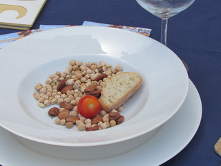Poor Sicilian dish rich in fiber
