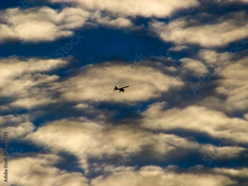 canvas print picture Kleines Flugzeug