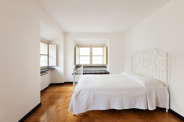 Nice bedroom, interior