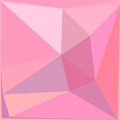 Pink triangulate abstract geometric pattern