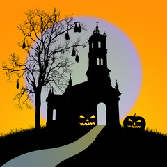 Halloween night,useful for some Halloween concept