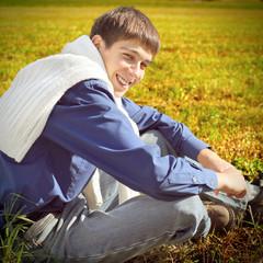 Teenager outdoor