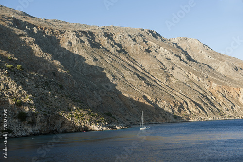 canvas print picture Südküste Kretas bei Chora Sfakion