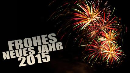happy new year 2015 feuerwerk