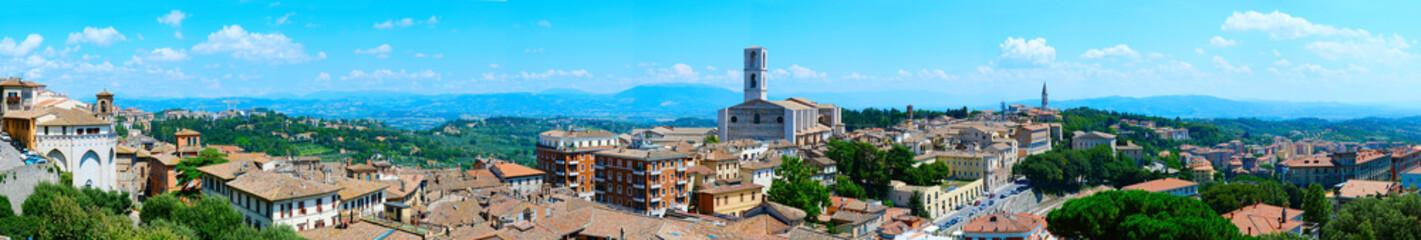 Perugia skyline