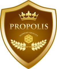Propolis Supreme Quality Emblem