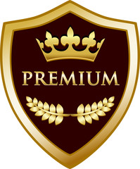 Premium Gold Shield