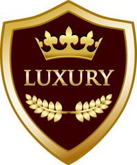 Luxury Gold Shield
