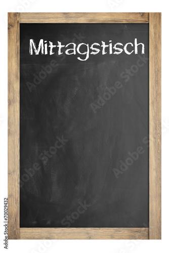 canvas print picture Mittagstisch