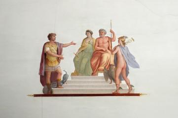 Frescoes of a Venetian villa