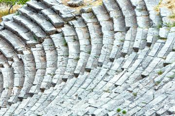 An ancient amphitheater (Greece)