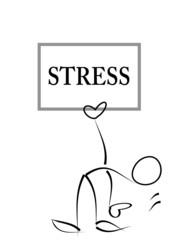 Mann, Stress, Versagen,