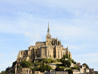 mont saint-michel abbey, Normandy