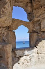 Il mare dalla fortezza
