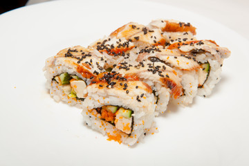 sushi,  different kinds of sushi