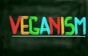 Veganism Concept