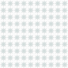 Light blue star pattern seamless abstract background