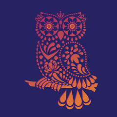 Decorative owl