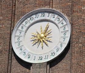 Horloge à Venise