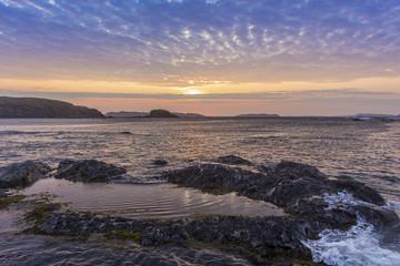 sunrise at Cape Onion, Newfoundland